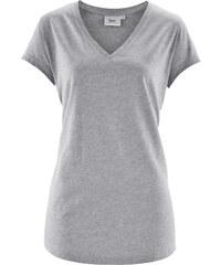 bpc bonprix collection T-shirt jersey manches courtes gris femme - bonprix