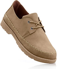bpc selection Chaussures à lacets beige chaussures & accessoires - bonprix