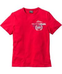 bpc selection T-shirt Regular Fit rouge manches courtes homme - bonprix