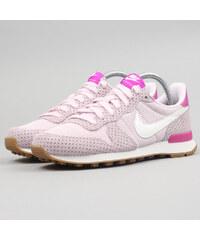 Nike WMNS Internationalist blchd llc / smmt wht - gm md brwn