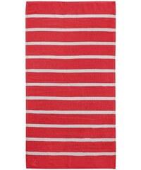 Handtücher Seahorse Menton mit dezenten Streifen SEAHORSE rot 2xHandtücher 60x110 cm