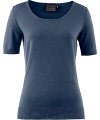 bpc selection Pull manches courtes bleu femme - bonprix