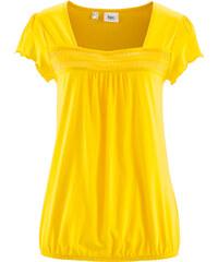 bpc bonprix collection T-shirt jaune manches courtes femme - bonprix