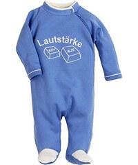 Schnizler Unisex Baby Schlafstrampler Schlafanzug mit Spruch: Lautstärke, Oeko Tex Standard 100