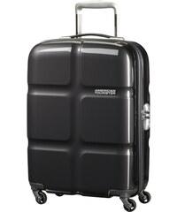 Skořepinový kabinový kufr American Tourister Supersize spinner 55 cm 01G-001 - tmavě šedá