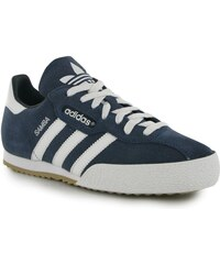 Halová obuv adidas Samba Suede Football dět. modrá/bílá