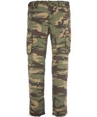 Schott Pantalon cargo - kaki