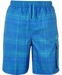 Kraťasy pánské Lonsdale 2 Stripe Blue/BrBlue