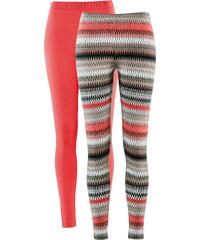 bpc selection Lot de 2 leggings rouge femme - bonprix