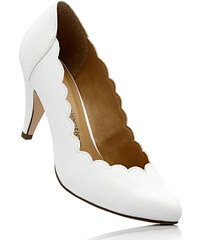 bpc selection Escarpins blanc avec 8 cm talon entonnoirchaussures & accessoires - bonprix