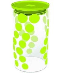 ZAK! designs - Dot dot dóza L 1,1 l, varné sklo/PP, zelená (0204-870)