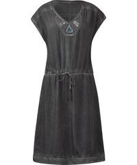 Cecil Knielanges Pailletten-Kleid - graphit light grey, Herren