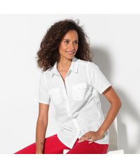Outdoor collection Blancheporte Chemise unie manches courtes