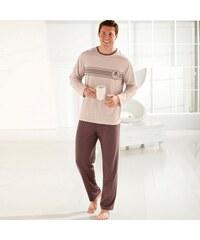 Blancheporte Pyjama homme jersey coton manches longues