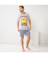 "The simpsons Blancheporte Pyjashort manches courtes ""Extreme love..."""
