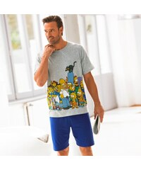 The simpsons Blancheporte Pyjashort manches courtes