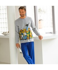 The simpsons Blancheporte Pyjama manches longues