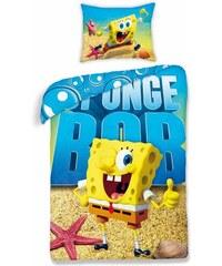 Halantex Dětské oboustranné povlečení SpongeBob, 140x200 cm - barevné