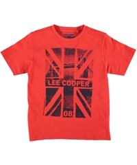 Tričko Lee Cooper Bridge dět. červená