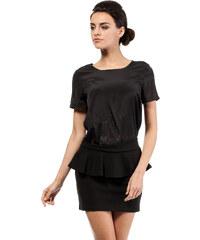 Černá sukně MOE 016