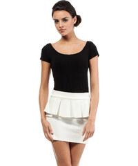 Bílá sukně MOE 016