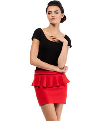 Červená sukně MOE 016