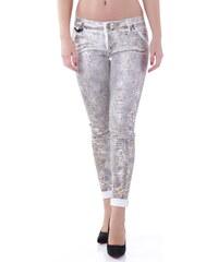 Dámské kalhoty Sexy Woman 62965 - XXS / Zlatá