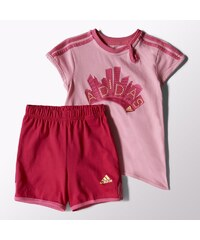 Set Adidas Girls Summer Set Kids S21458 S21458 - 62