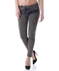 Dámské jeans Bray Steve Alan 63092 - Šedá / 26