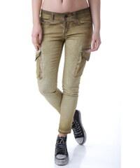 Dámské kalhoty Bray Steve Alan 63297 - 28 / Zlatá