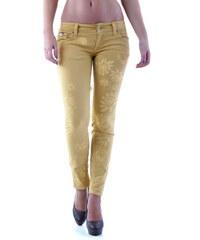 Dámské kalhoty Sexy Woman 64146 - Žlutá / XXS