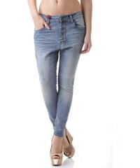 Dámské jeans 525 64827 - Modrá / M