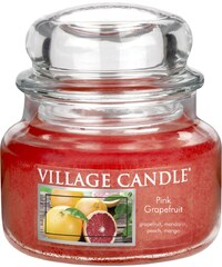 Village Candle Svíčka ve skle Pink Grapefruit - malá