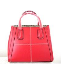 L&S Fashion (Anglie) Kabelka LS0030A červená