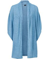BODYFLIRT Oversize Strickjacke in blau für Damen von bonprix