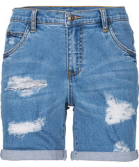 RAINBOW Short en jean bleu femme - bonprix