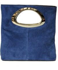 Giulia Torino - Pochette en cuir - bleu