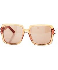 Yves Saint Laurent SL65 - Damensonnenbrille - bernstein