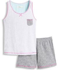 Esprit Vzdušné pyžamo z žerzeje ze směsi bavlny
