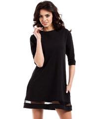 Černé šaty MOE 219