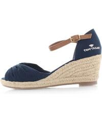 Tmavě modré platformové sandály Tom Tailor 9690907