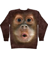 The Mountain Langarmshirt Baby-Orang-Utan - S