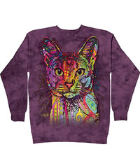 The Mountain Langarmshirt Katze bunt - S