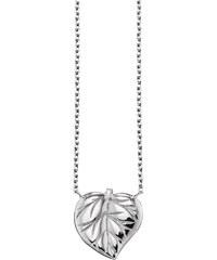 Julie Julsen Silber Halskette Blatt JJNE9828.1