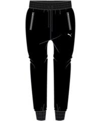 Puma Jemné šusťákové kalhoty černá L