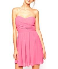 Růžové šaty TFNC prom dress