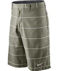 Nike Dlouhé pruhované šortky šedá XS