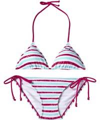Bikiny Puma FUN Check StripeTriangle Bikini W