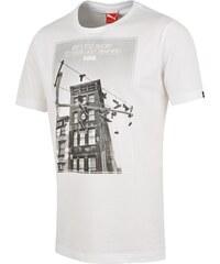 Puma Bavlněné tričko Sneaker bílá XL