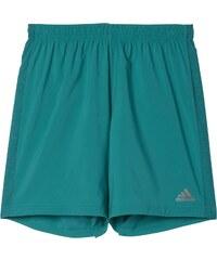 adidas Pohodlné běžecké šortky zelená 2XL7